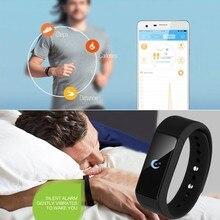 Высокое качество умный браслет Bluetooth 4.0 Водонепроницаемый Сенсорный экран фитнес трекер здоровье браслет сна монитор Смарт часы