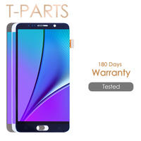 AAA Quality 5 7 Super AMOLED LCD For SAMSUNG Galaxy Note 5 LCD Display Note5 N920A