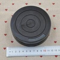 Kil Zanaat Malzemeleri için 11.3 cmTurntable Modeli Kil Çömlek Seramik Heykel Sanatı için Heykel Plastik Pikap Set
