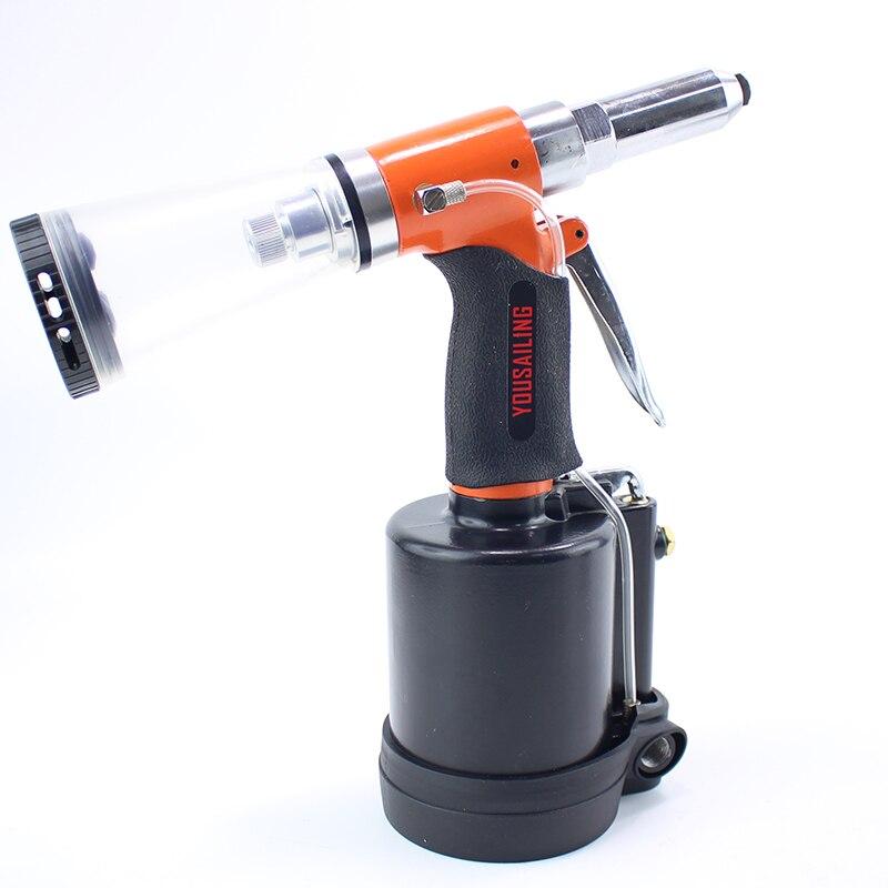 Tools : YOUSAILING New Arrival Industrial 3 2-6 4MM Pneumatic Blind Riveter Air Hydraulic Rivets Nail Gun  Air Riveting Tools