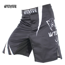 WTUVIVE 2017 new boxing features sports training Thai fist fitness personality fight flat angle shorts MMA muay thai clothing цена