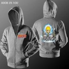 Naruto Fleece Homme Hipster Sweatshirt