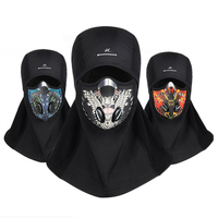 Winter Cycling Face Mask Ski Training Mask Thermal Fleece Windproof Warm Snowboard Shield Hat Bicycle Mask Balaclava For Men