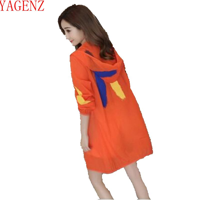 Clothing Coat Hooded Female Large-Size Women Summer Casual New Beach 1260 Tops Sun-Protection
