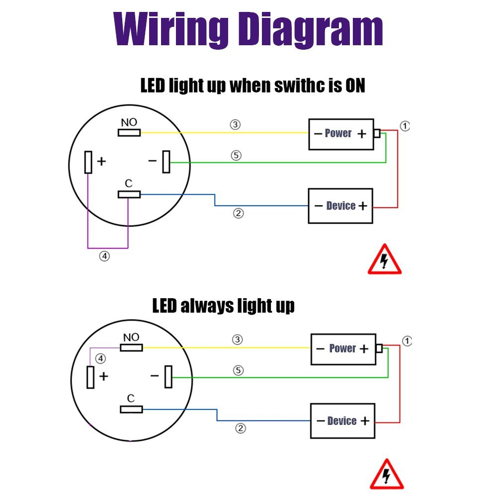 Wiring 4 Pin Led Car Fuse Box Diagram How To Wire Trailer Lights Push Button Basic U2022 Rh Rnetcomputer Co Tacoma 2012