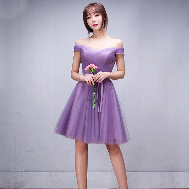 Popular Purple Homecoming Dresses under 100-Buy Cheap Purple ...