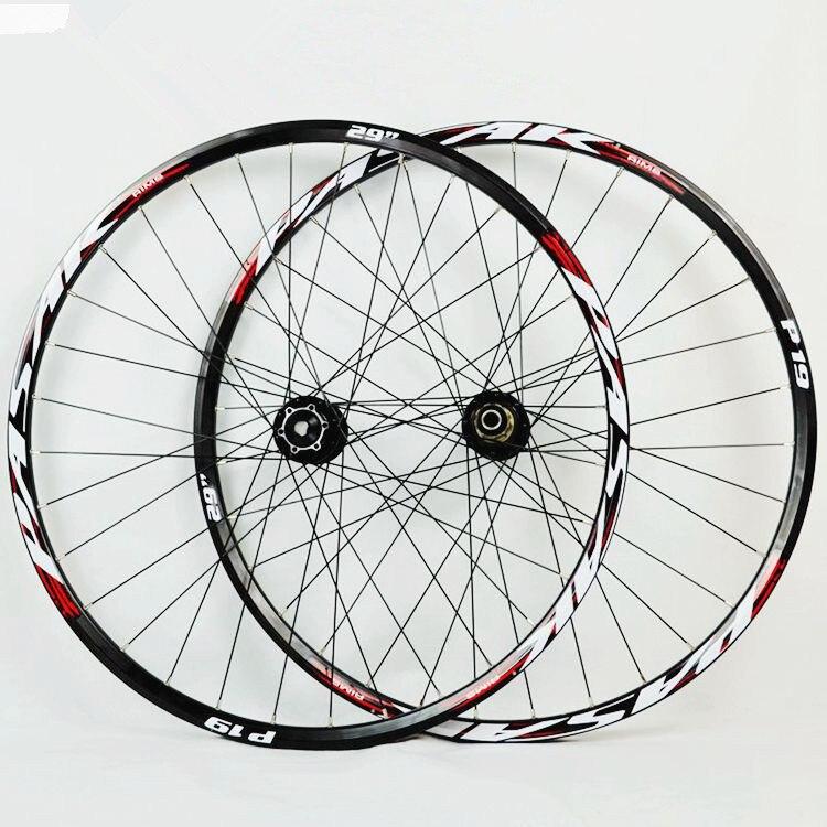 MEROCA マウンテンバイクソフトテールダウンヒル AM スルー軸車軸密封されたベアリングホイールホイールセット 20*110 ミリメートル 12*142 ミリメートルリム  グループ上の スポーツ & エンターテイメント からの 自転車の車輪 の中 1