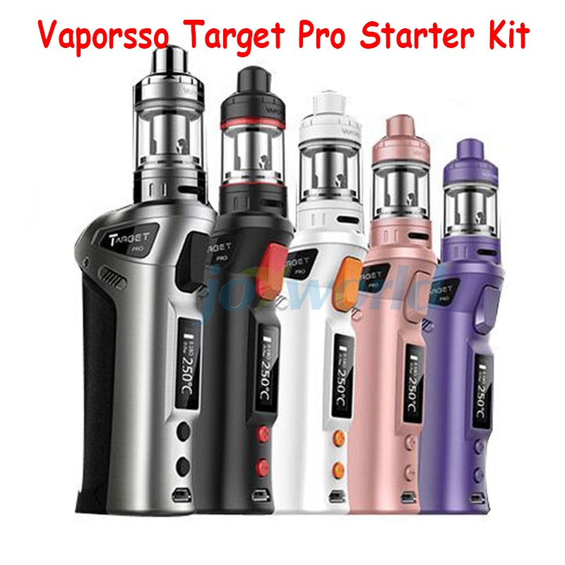 Original Vaporesso Target Pro 75W VTC Starter Kit Temperature Control 18650 Box Mod with Ceramic cCELL Coil YY (6)