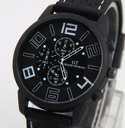 Top marca de luxo moda militar relógio de quartzo dos homens esportes relógios de pulso relógio hora masculino relogio masculino 8o1