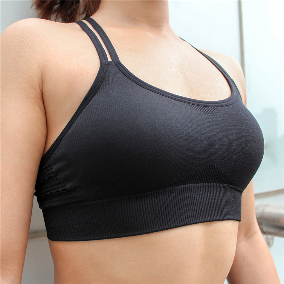 Seamless Stretchy Sports Top 1