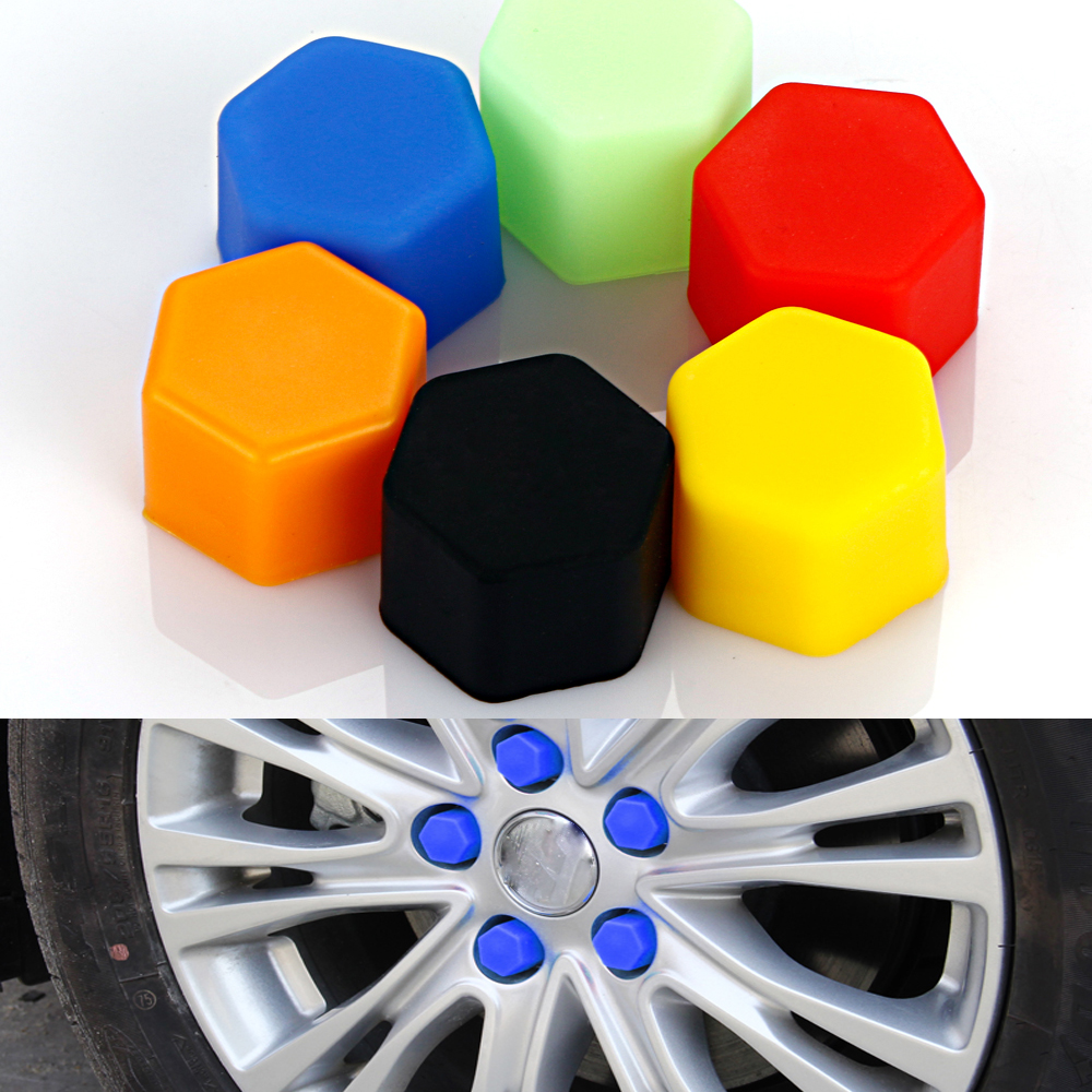 Car Wheel Hub Screw Cover Nut Caps for BMW Toyota VW Polo Ford Kuga Chevrolet Cruze Nissan Qashqai Peugeot