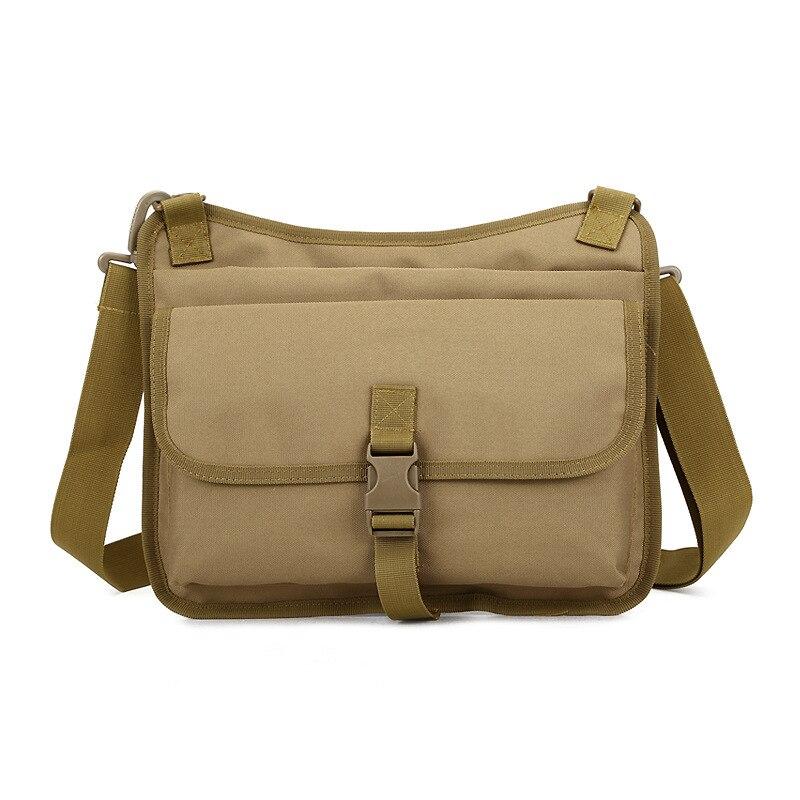 ФОТО Men Military Messenger Bag Travel Rucksack Casual Shoulder Bag Nylon Small Crossbody Fanny Shoulder Back Pack