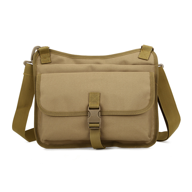 Men Military Messenger Bag Travel Rucksack Casual Shoulder Bag Nylon Small Crossbody Fan ...