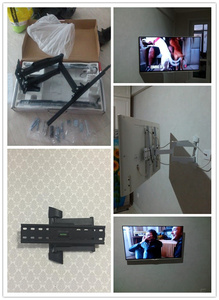Image 5 - Full Motion Tv Wall Mount Universele Tilt Swivel Beugel Tv Stand Monitor Houder Voor Lcd Led Hd Plasma Tv Max vesa 400*400 Mm