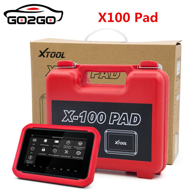 Hot OriginalXTOOL X-100 PAD Tablet Key Programmer with EEPROM Adapter Support Special Functions Free Shipping From US/Amazon