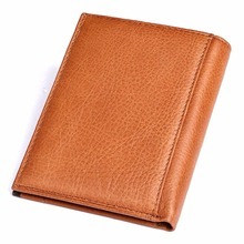 High Quality Genuine Cowhide Leather Wallet