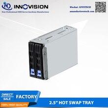 """Hotswap 2*2,"""" hotswap SSD плесень с двойным разделением 2,5"""" отсеки для драйвера жесткого диска с ящиком hotswap backplane S225-01H"""