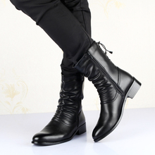 British style Boots Winter Spring Top quality Zip