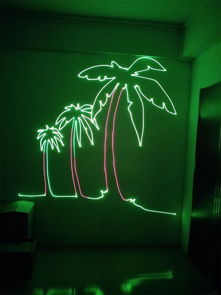 stage laser light SD card 500mW rgb beam light holigday LED light DJ disco laser projector (4)