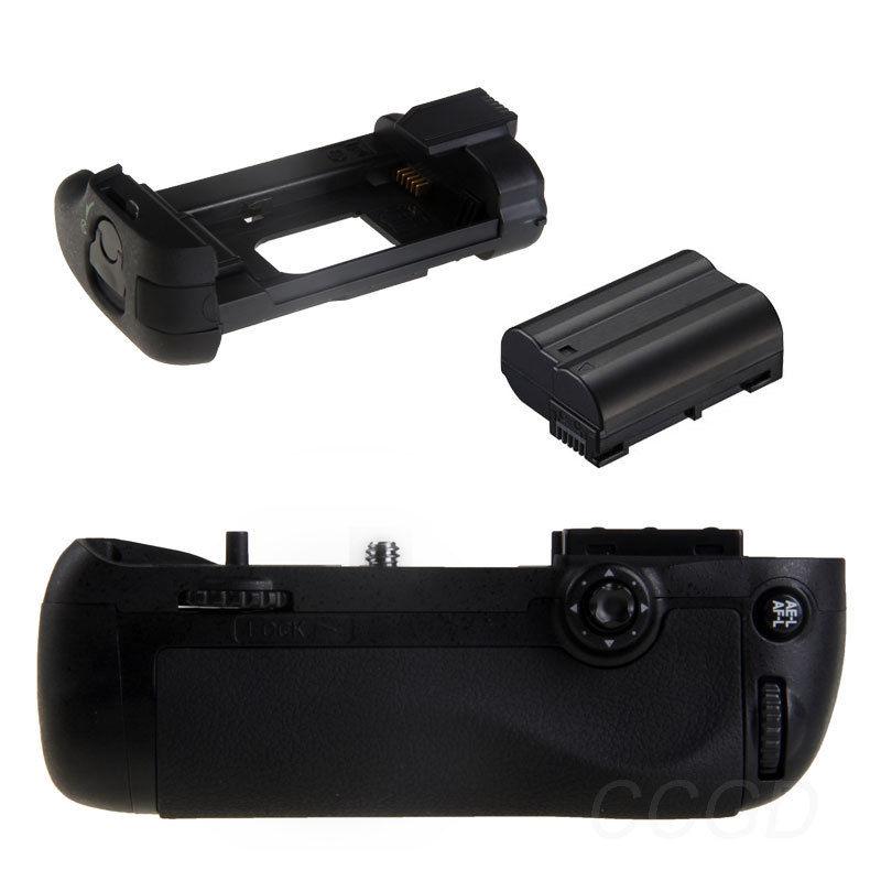 JINTU poignée de batterie verticale + 1 pièces décoder EN-EL15 pour Nikon D7100 D7200 appareil photo reflex numérique