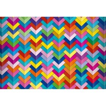 Laeacco Colorful Chevrons Arrows Stripes Wall Baby Birthday Party Decor Photo Backgrounds Backdrop Photocall Studio