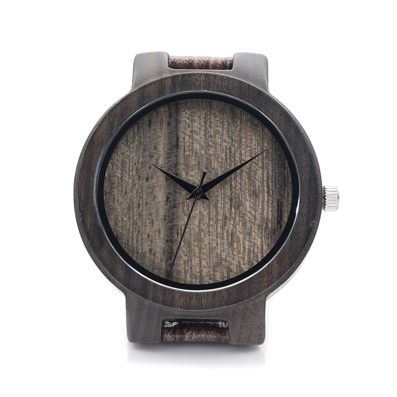 BOBO BIRD D23 Wood Watch Men Wooden Grain Leather Band Brand Designer Japan Movenment Quartz Watches for Men Women in Gift Box bobo bird metal case with wooden fold strap quartz watches for men or women gifts watch send with wood box custom logo clock
