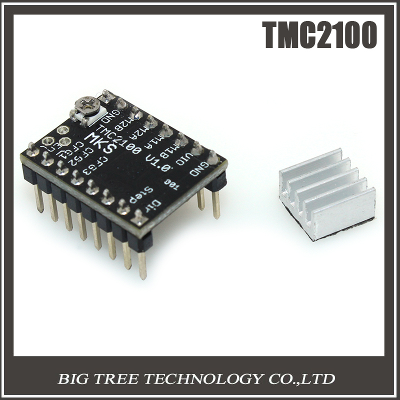 BIGTREETECH TMC2100 StepStick MKS TMC2100 stepper motor driver ultra-silent excellent stability &protection superior performance