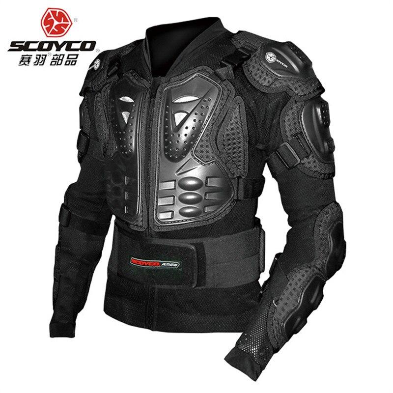 Véritable SCOYCO tout-terrain moto équitation équipement de protection en plein air équitation anti-lutte coupe-vent crash armure vêtements AM02