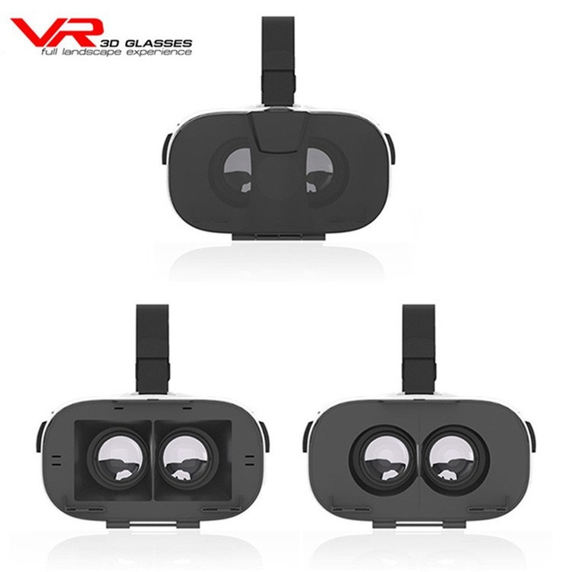 3D VR Fiit 2N Glasses Virtual Reality Google Cardboard Headset VR BOX Helmet head mount For 4.0-6.5' Phone for xiaomi meizu sony