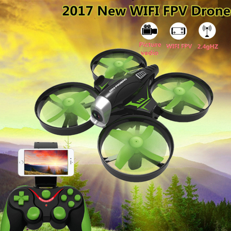 Micro remote control helicopter HC-630 2.4G pressure attitude hold LED light mini WIFI camera real time RC drone kids gift toy cheerson cx30w cx 30w fpv wifi smart remote control drone led rc helicopter quadcopter aircraft air plane toy kids gift toys