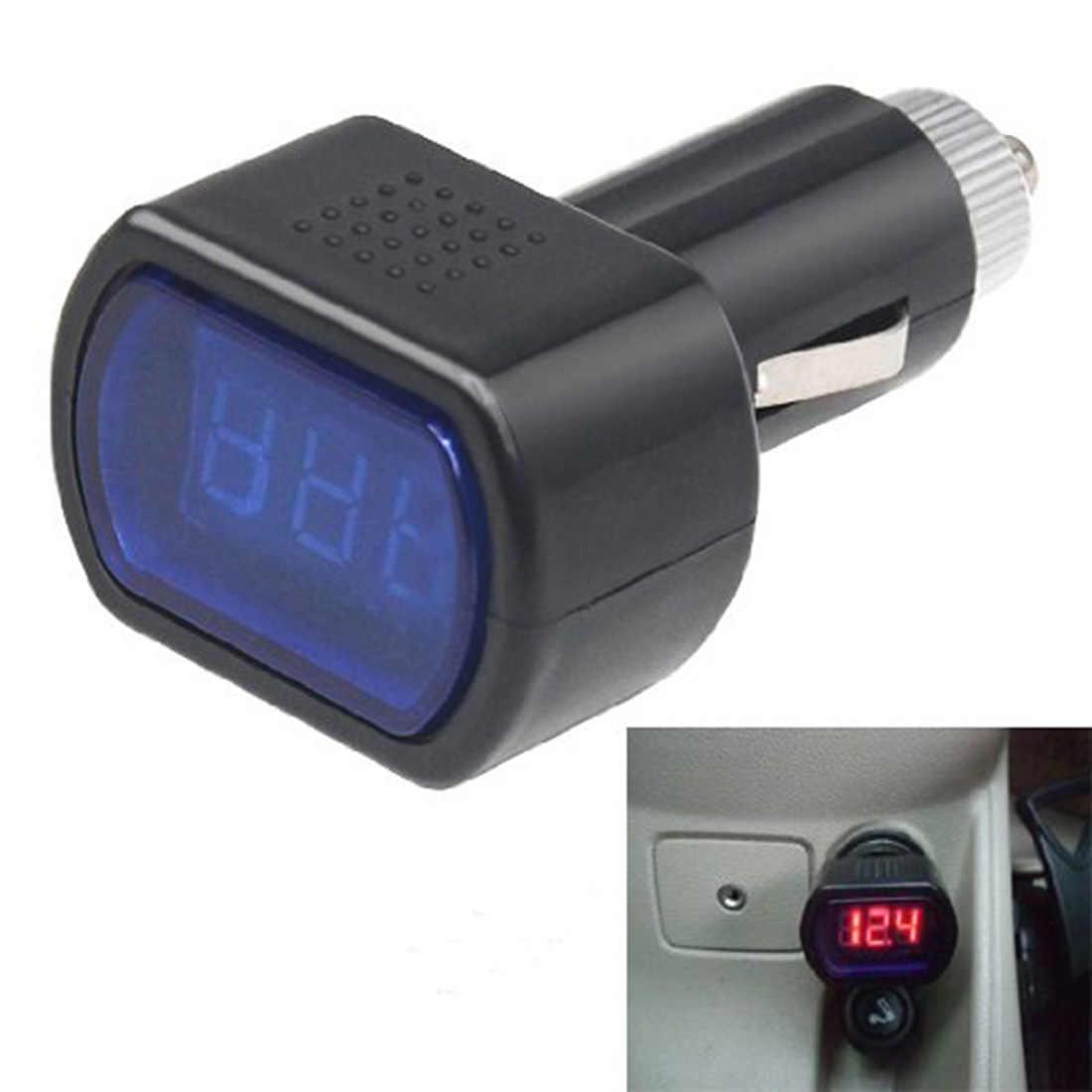 8-30V Auto Voltmetro Portatile Monitor Digitale Auto Voltmetro Del Tester Cigarette Lighter Lcd Voltage Tester di Pannello Automotive Voltmetro