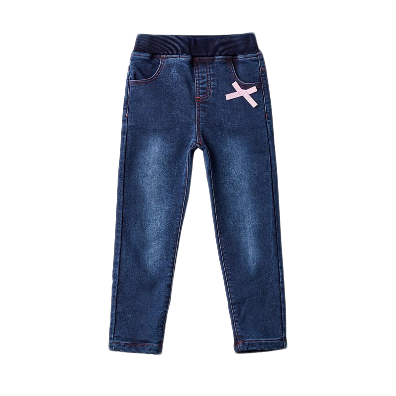 Фото - Jeans MODIS M182D00196 for girls kids clothes children clothes TmallFS girls destroyed jeans