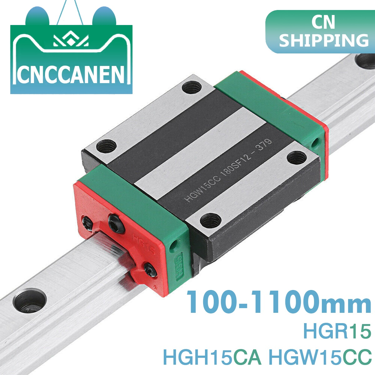 HGH15CA Carriage Block for Linear Guide Rail HGR15 CNC Engraving Router