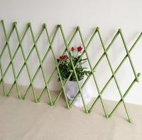30X135cm PVC Coated Bamboo Fence Tensile Waterproof Garden Trellis Garden Decoration Fencing
