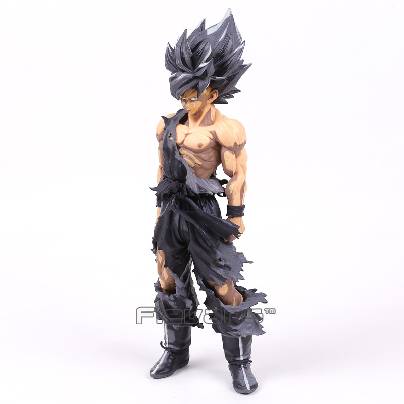 Dragon Ball Z SMSP Master Stars Piece The Son Goku Black Color PVC Figure Collectible Model Toy 24cm wholesale dual dutch piece suit yixing tea tray ceramic ru ding black dragon tea