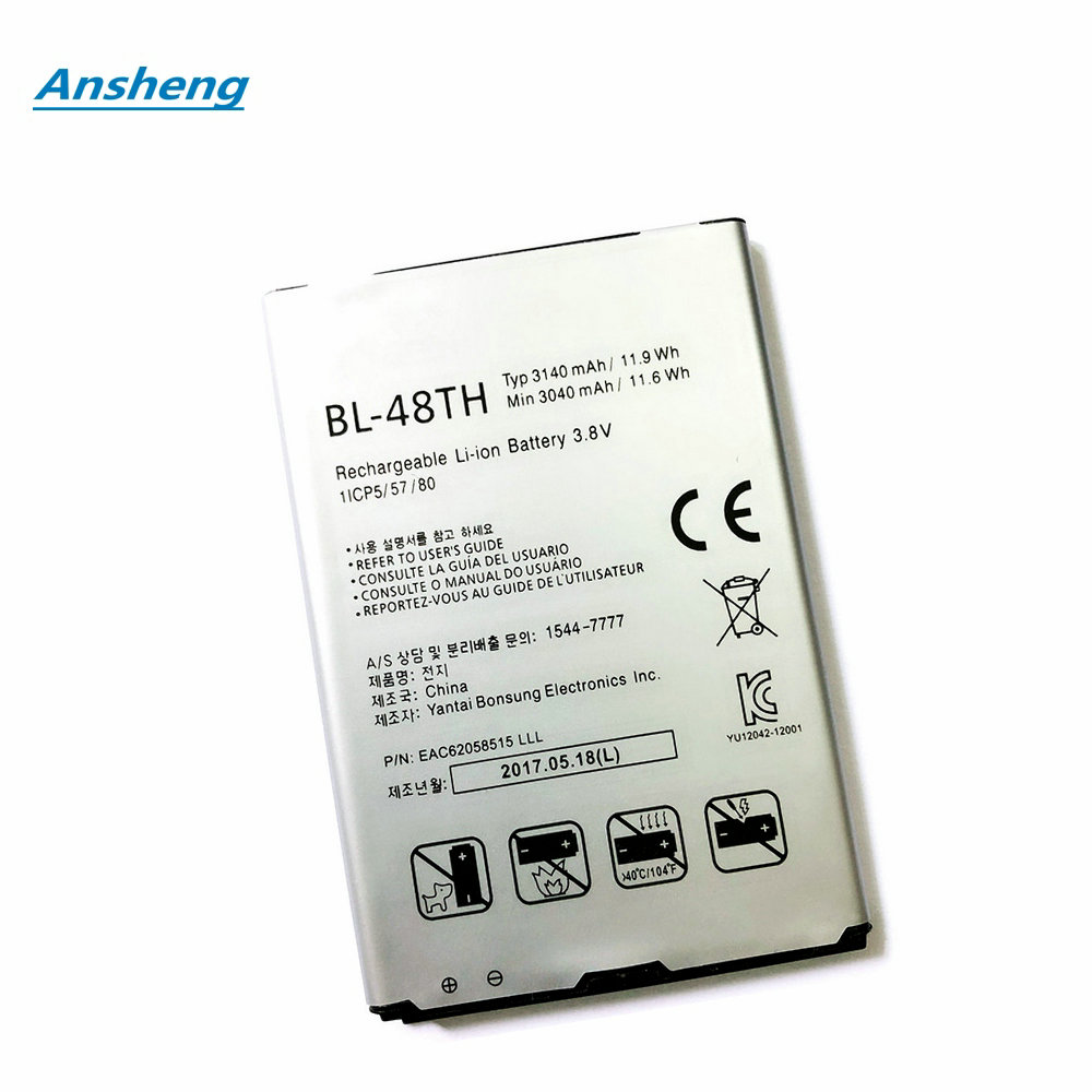 Mobile Phone Batteries Cellphones & Telecommunications Alert High Quality 3140mah Bl-48th/47th Battery For Lg E940 E977 F-240k F-240s Optimus G Pro For Lg Pro Lite D686 E980 E985 E986