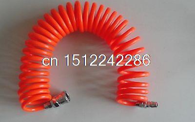 12mm(OD) x 8mm(ID) PU Recoil Air Tubing Pipe Hose 6m With Quick Connector рыков константин дракон кн 2 назад в будущее