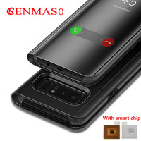 S8 Plus Flip Cover Case For Samsung Galaxy S8 Plus S8 Note 8 G950F G955F N950F