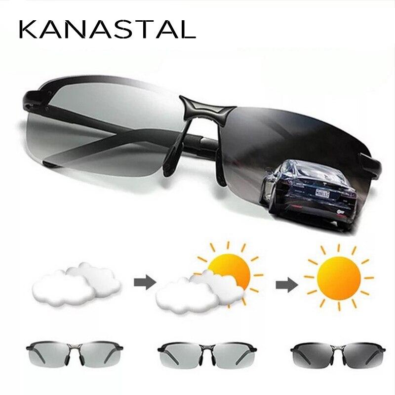 1ff4e23fab Gafas de sol de pesca polarizadas para hombres profesionales de QUESHARK  protección Uv gafas de senderismo