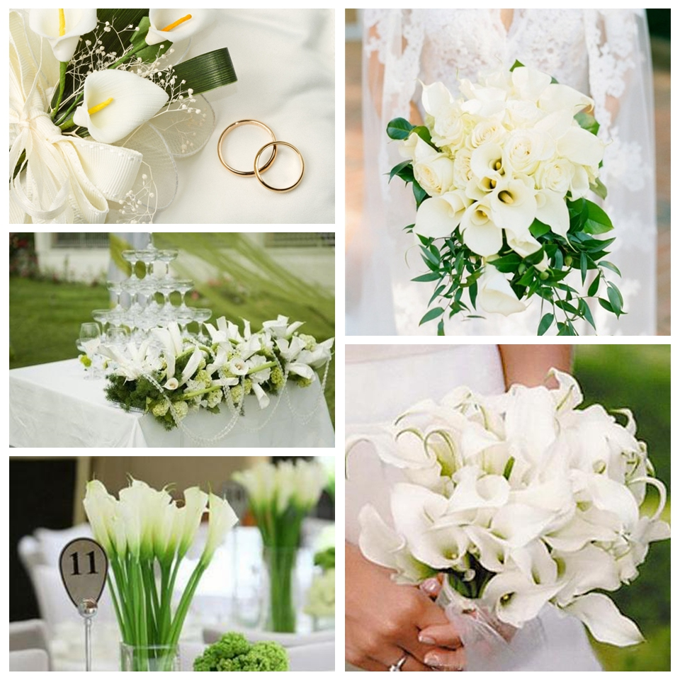 5pcslot calla lily artificial flowers wedding flowers diy flower 5pcslot calla lily artificial flowers wedding flowers diy flower bouquet wedding favors for home gardenwedding decoration in artificial dried flowers izmirmasajfo