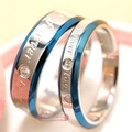 1 piece price! his and hers promise ring sets, Engagement Couple Stainless Steel Forever Love Rings Lovers,men women