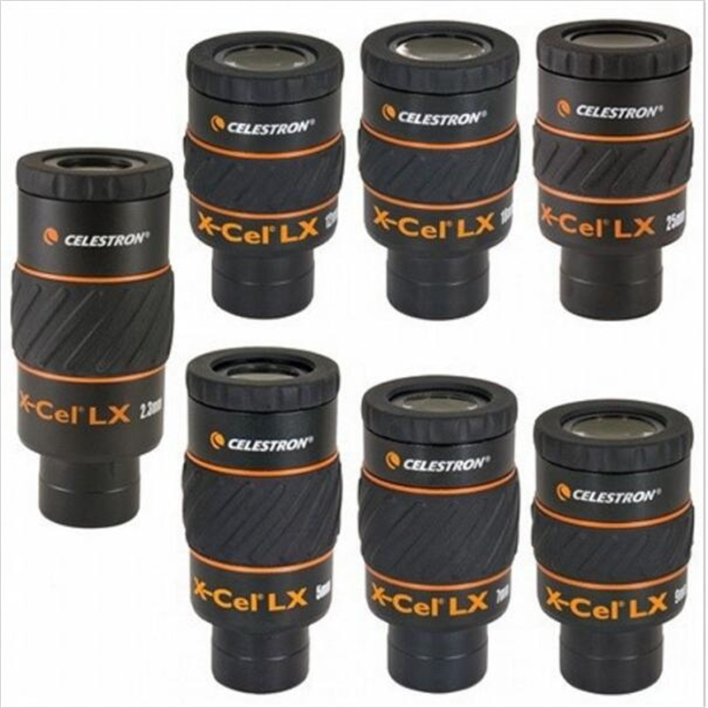 U.S. Celestron X-CEL LX 12mm wide-angle high-definition large-caliber high-powered telescope eyepiece accessories
