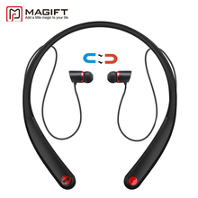 Magift Bluetooth Headsets HV990 Wireless Magnetic Headphone Neckband  Stereo Earphone with Microphone for iPhone7 Android