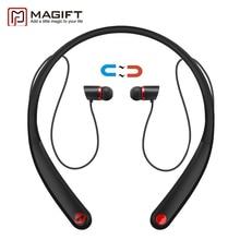 Magift HV990 Magnético Inalámbrico Auriculares Bluetooth Para Auriculares Banda Para El Cuello Auriculares Estéreo con Micrófono para iPhone7 Android