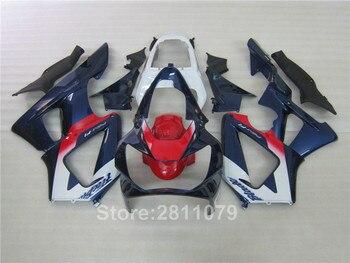 Injection molding fairing kit for Honda CBR929RR 00 01 red blue white fairings set CBR929RR 2000 2001 PA05