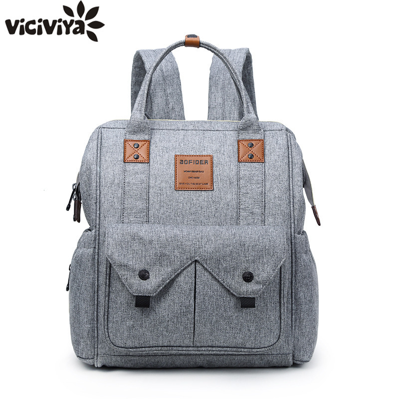 Brand Designer Large Capacity Diaper Bag Mummy Maternity Nappy Nursing Bag For Baby Care Travel Backpack Stroller Hanging Bag