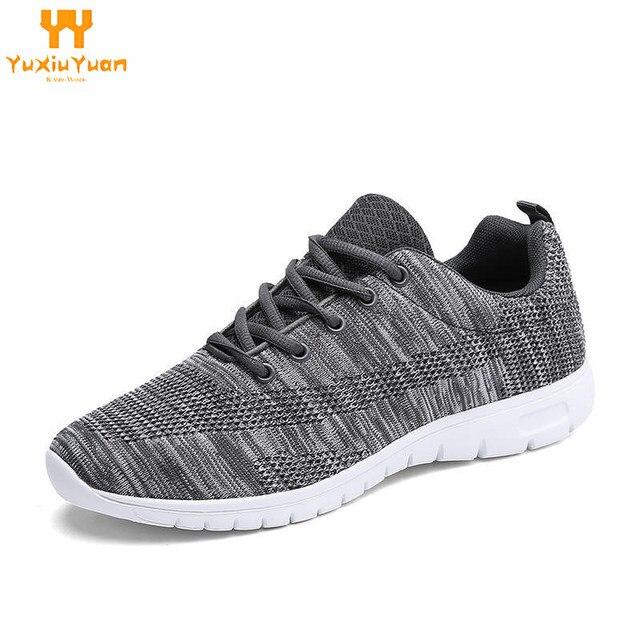 2018 Sale Solomons Sepatu Baru Bernapas Pria Sepatu Kasual Tenun Sneakers  Pelatih untuk Flat Masculino Adulto 93cb342868