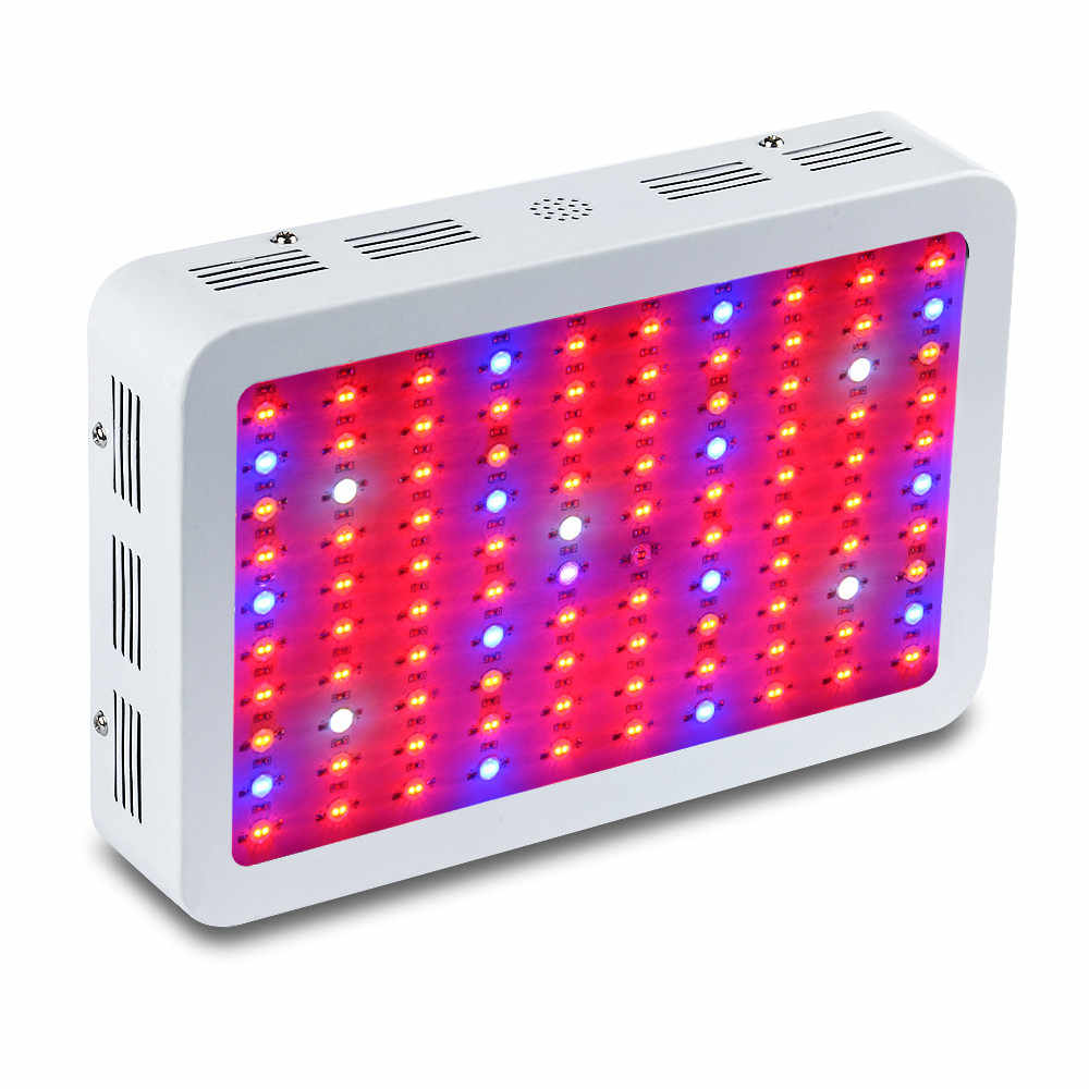 Алмазный 300 Вт 600 Вт 800 Вт 1000 Вт 1200 Вт 1500 Вт 1800 Вт 2000 Вт Светодиодный светильник с двумя чипами, полный спектр, красный/синий/УФ/ИК для комнатных растений