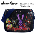 Five Night At Freddy Satchel Book Bag Cartoon Characters Students Canvas Messenger Bag Child School Bag