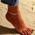 Женский браслет на лодыжку звезда S007, богемный браслет на ногу, веревочный браслет на ногу, очаровательные пляжные украшения, 2019